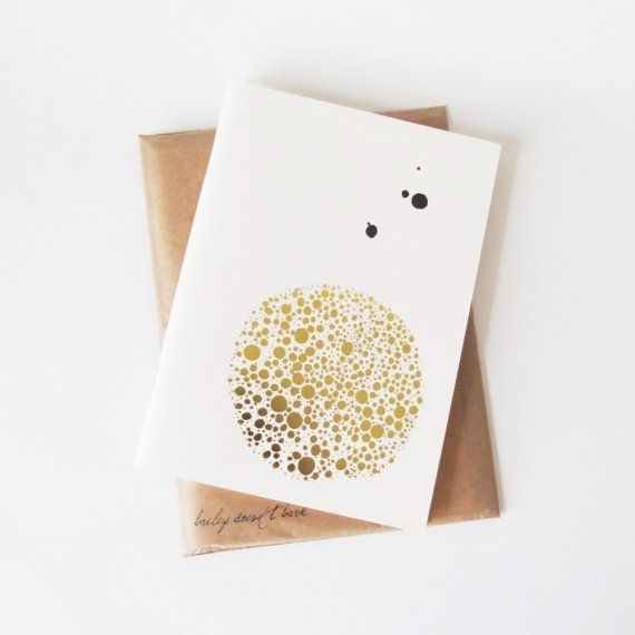 A dotty notebook for their golden thoughts.