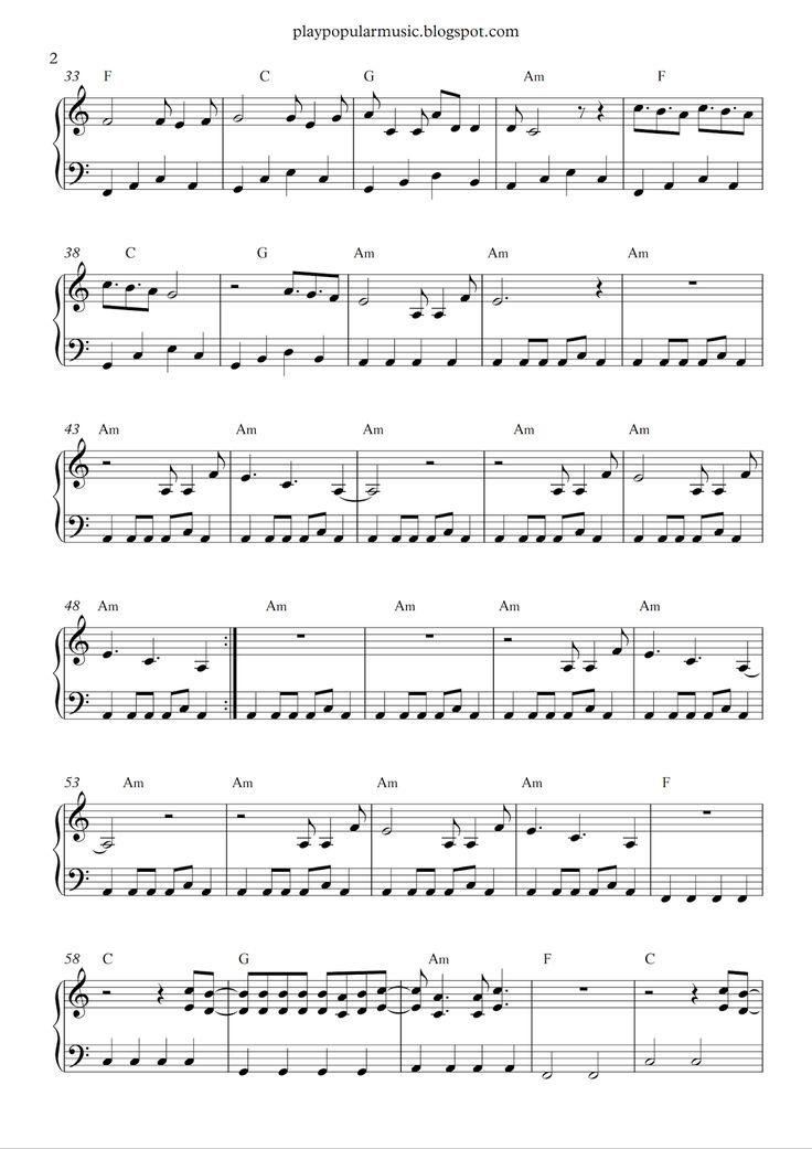 27 best piano sheet images on Pinterest | Free piano sheet music ...