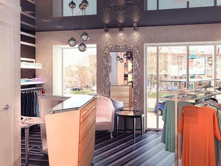 Дизайн интерьера магазина «Pret-a-Porter»