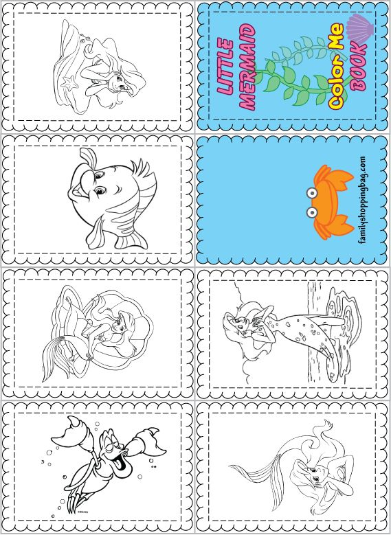 18 best images about little mermaid printables on