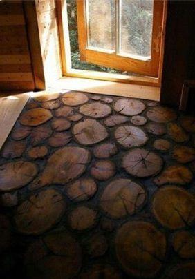 Cross-section Wood floors
