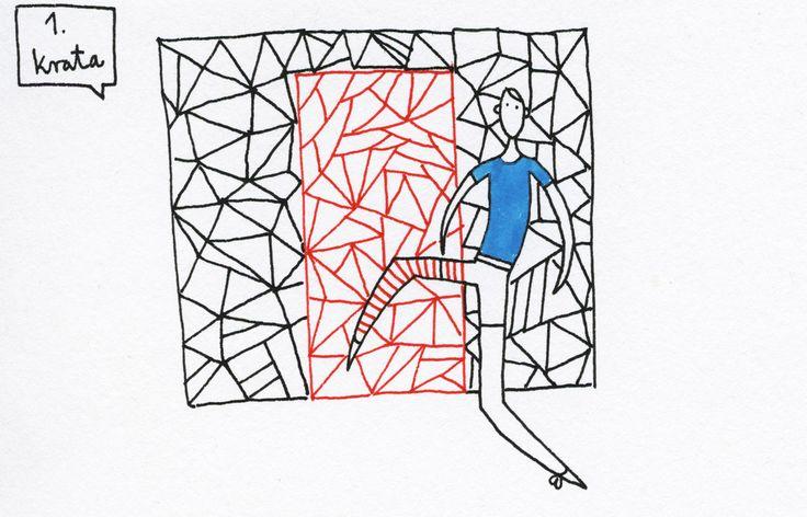 ilustracja Joanna Hedemann Uprasza się przyprowadzić do Muzeum młodsze rodzeństwo, najmłodszych krewnych i sąsiadów; http://artmuseum.pl/pl/wystawy/dzialamy-z-kolekcja