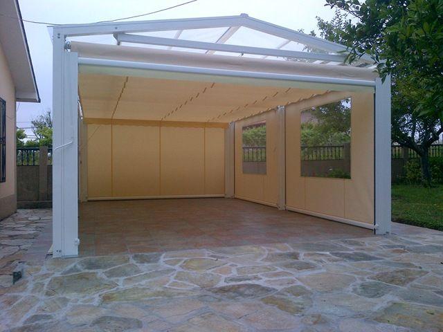 Toldo modelo umia para el techo sistemas de protecci n for Toldos gomez arzua