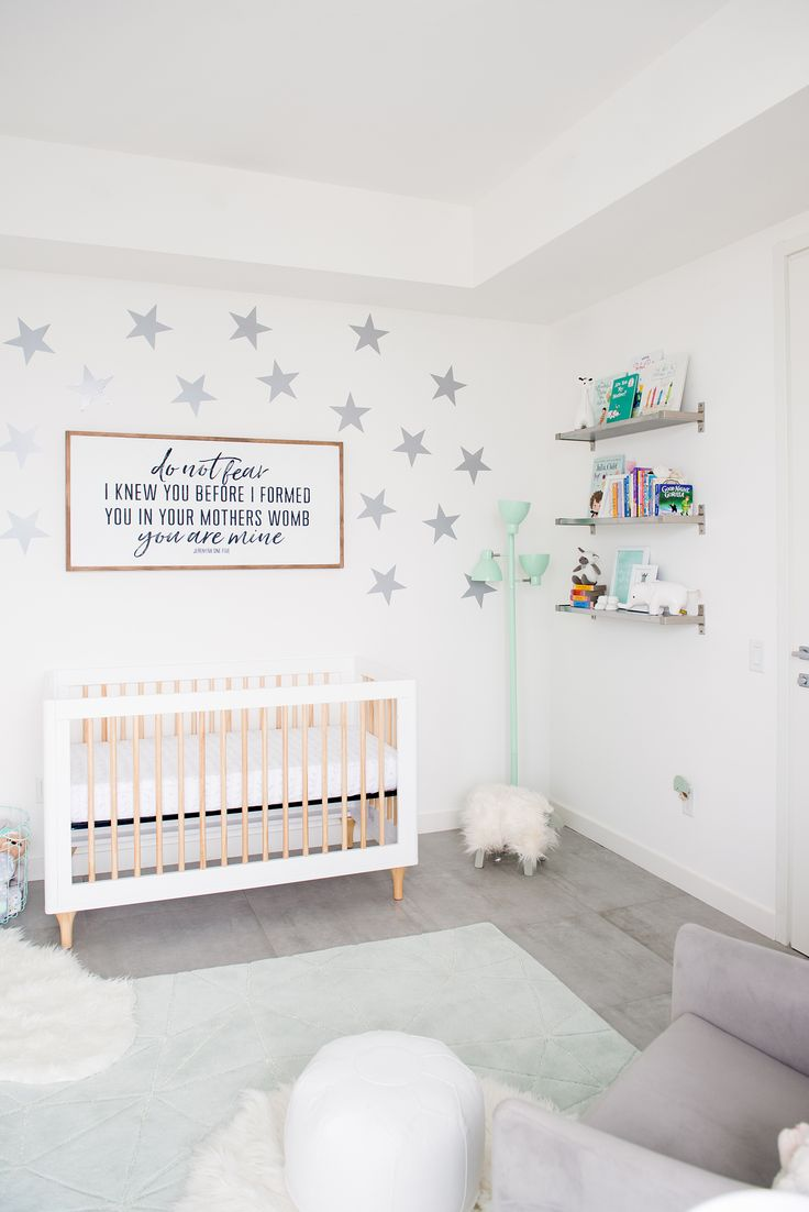 707 best Gray Nursery images on Pinterest | Bedroom, Guest rooms ...