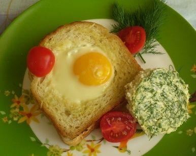 Бутерброд «Сытный завтрак»