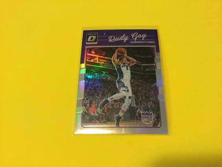2016/17 Donruss Optic Prizm RUDY GAY #SacramentoKings