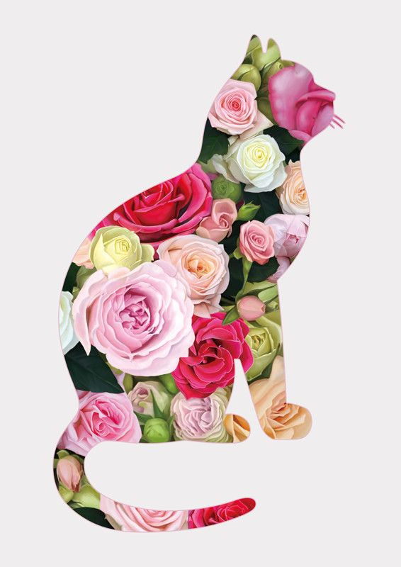 The Rose-cat, Kate Kondrukhova on ArtStation at https://www.artstation.com/artwork/kOlx2