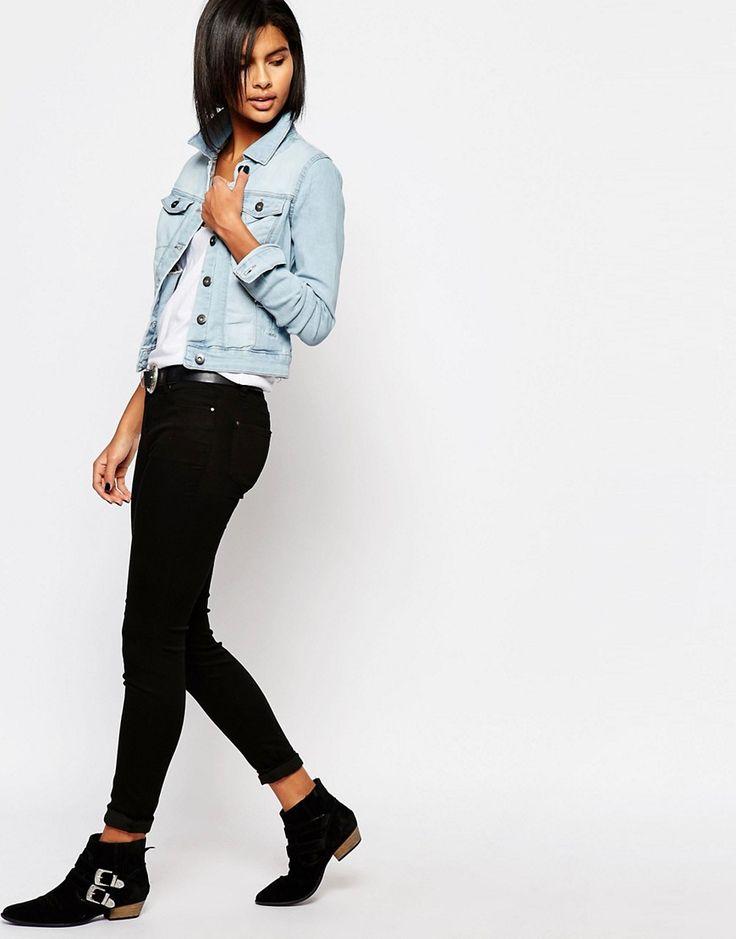 Immagine 4 di Vero Moda - Giacca di jeans lavaggio chiaro