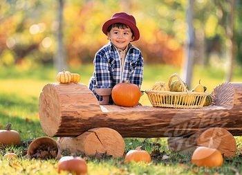 Pumpkin , child