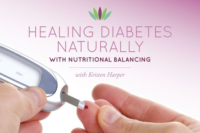 Medicine only treats diabetes but you can actually heal it naturally. Learn how ...
