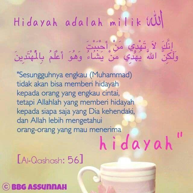Hidayah adalah milik Allah