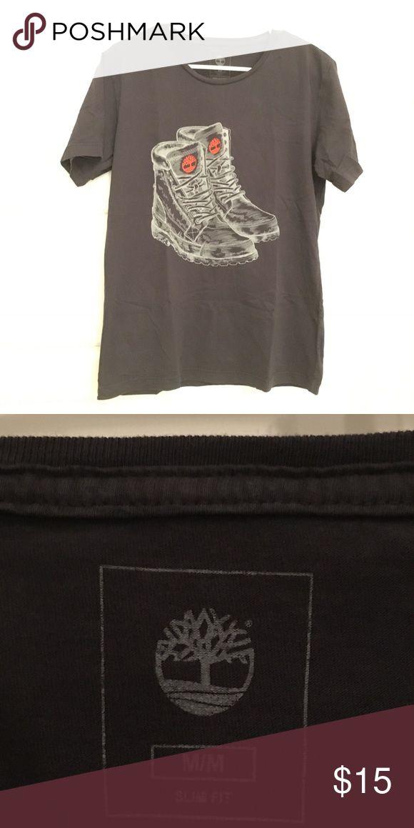 Timberland  T shirt - Size M Timberland  T shirt - Size M - Dark Grey Timberland Shirts