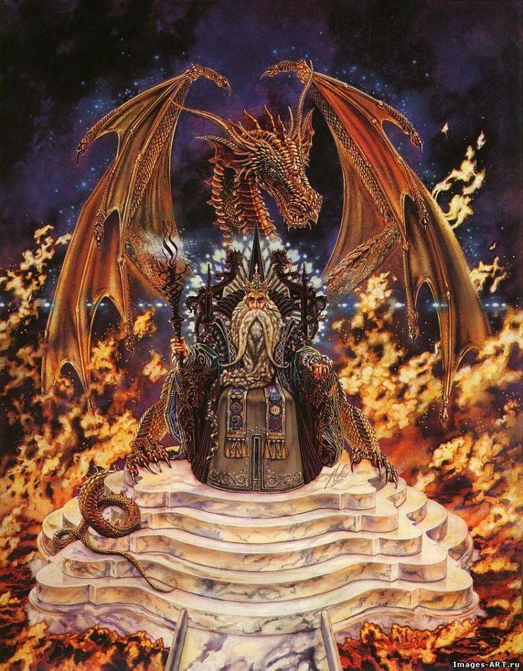 Myles Pinkney | Fantasy dragon art, Fantasy wizard, Dragon pictures