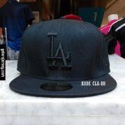 New Era Baseball Cap – LA Dodgers – Black Black  Visit our webstore to grab it!!  #newera #topi #caps #hats #baseball #mlb #skateboard #hiphop #bboy #dance #59fifty #fitted #snapback #losangeles #la #dodgers #gelorajersey