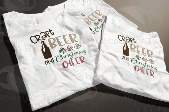 Craft Beer And Christmas Cheer Svg Png Ipa Svg Craft Beer Etsy Craft Beer Things To Sell Black Singles
