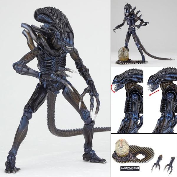 【特撮リボルテックNo.016】ALIEN WARRIOR//完成品フィギュア 【ノンスケール】【海洋堂】【2013年10月19日再販予定】【予約商品】【2sp_120220_b】【楽天市場】  http://item.rakuten.co.jp/nipponkan/a674-revo016-alienwarrior/
