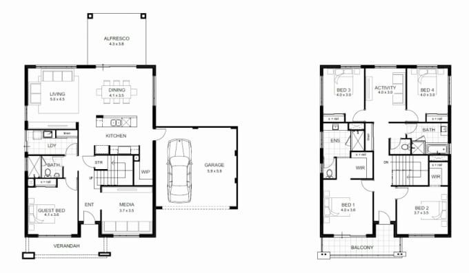 Olliverjay I Will Design Your Construction Drawings For City Permit For 15 On Fiverr Com House Plans With Photos House Plans 2 Storey Small House Blueprints