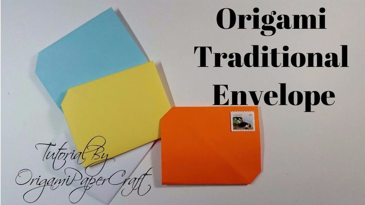 Origami Envelope  ✉️  || OrigamiPaperCraft || Very Easy To Make