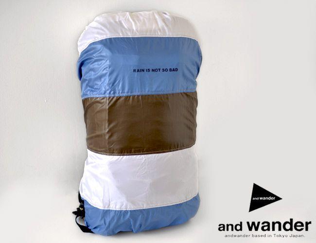 andwandar mixed color cover bag / アンドワンダー ミックスカラーカバーバッグ - MoonlightGear - ムーンライトギア