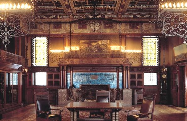 Louis Comfort Tiffany Interior Design
