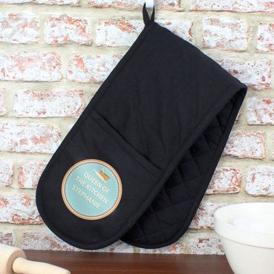 Check this out!! The Kitchen Gift Company have some great deals on Kitchen Gadgets & Gifts Personalised Baker Oven Gloves #kitchengiftco