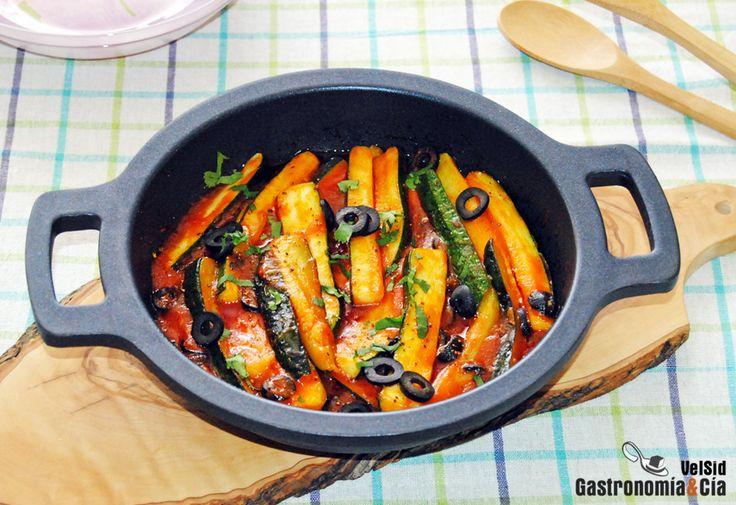 Calabacines a la nizarda | Gastronomía & Cía