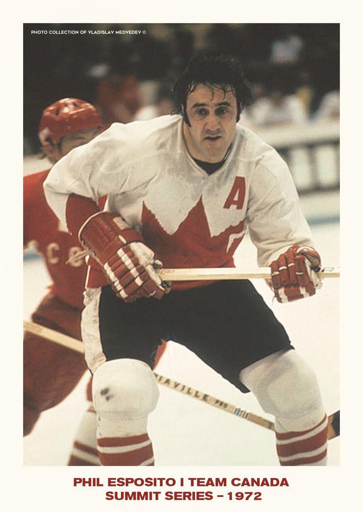 Phil Esposito #teamCanada1972 #canada #nhl #icehockey #philesposito #nhl #SummitSeries1972