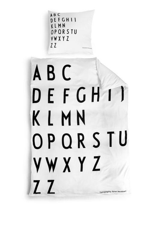Povlečení Letters 140x200 | Nordic Day