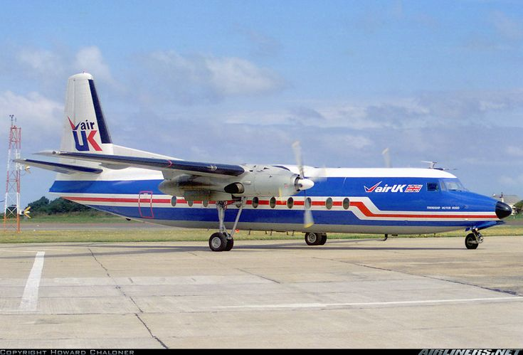 Fokker F-27-500 Friendship aircraft picture