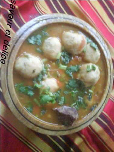 Boulettes Kabyle de semoule (Tikourvavine) (Laasvan) - Le blog de nawel