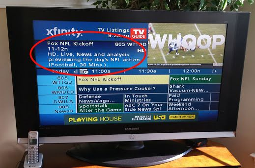 Someone's timing was off when they tackled this program description!
