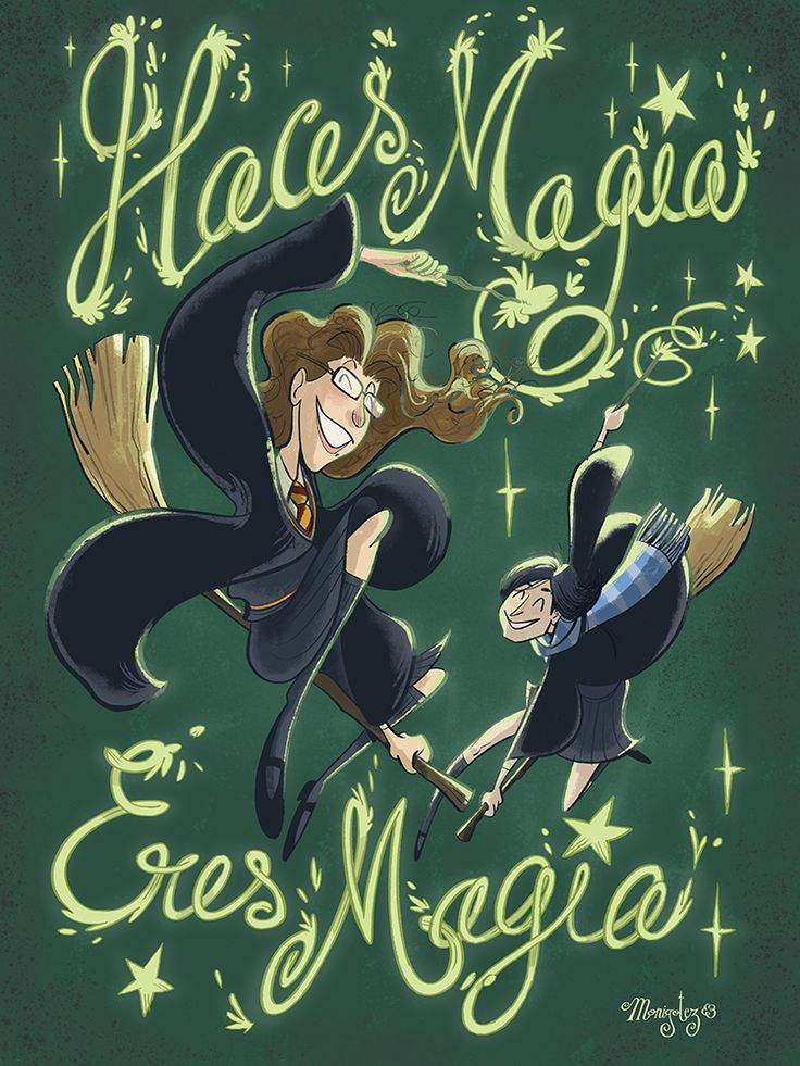 Haces magia, eres magia. #monigotez #love #lgbt #amor #ilustracion #illustration #harry potter #magic #magia #dibujo #photoshop #wacom