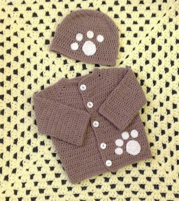 Free Crochet Pattern For Paw Print : 37 Best images about baby clothes on Pinterest Turtle ...