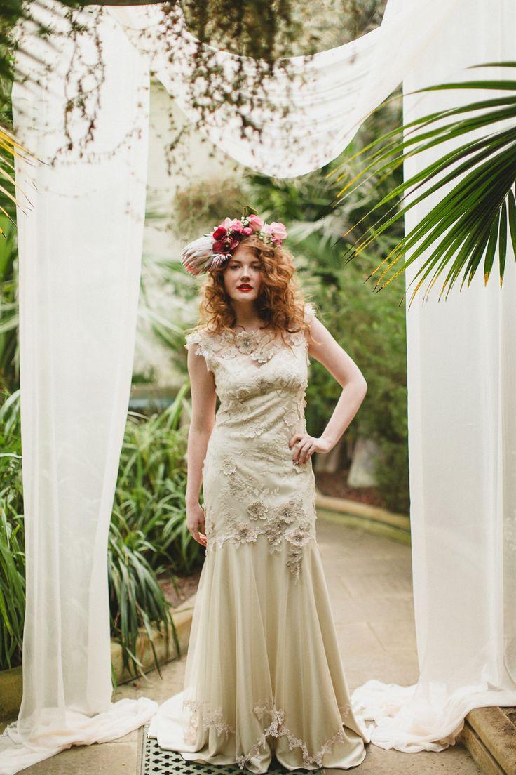Best 25 whimsical wedding dresses ideas on pinterest mermaid claire pettibones still life collection ethereal and whimsical wedding dresses ombrellifo Images