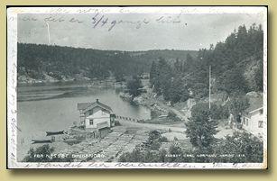 postkort fra nesset i bunnefjorden