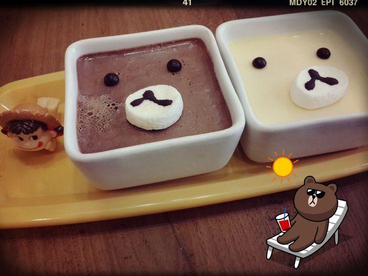 Cute pudding
