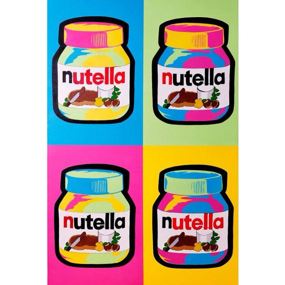 Hey, I found this really awesome Etsy listing at https://www.etsy.com/listing/129001440/nutella-print