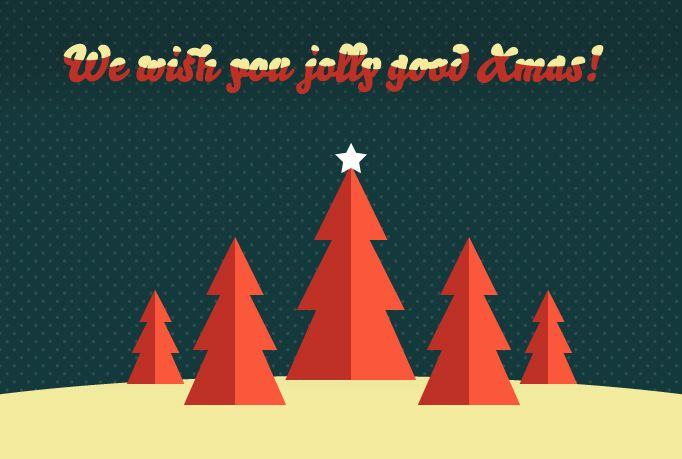 pixelrockit: will make a stylish vintage Christmas postcard for you for $5, on fiverr.com