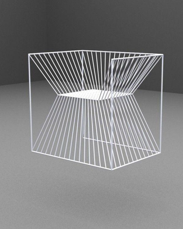 Fakir chair by Agi architects