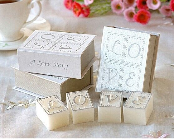 'A Love Story' Books of Candles