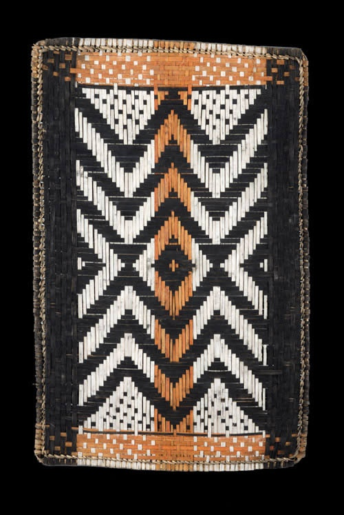 Africa   Twill Plaited Mat. Mbole/Mongo peoples, DR Congo   ca. 1970
