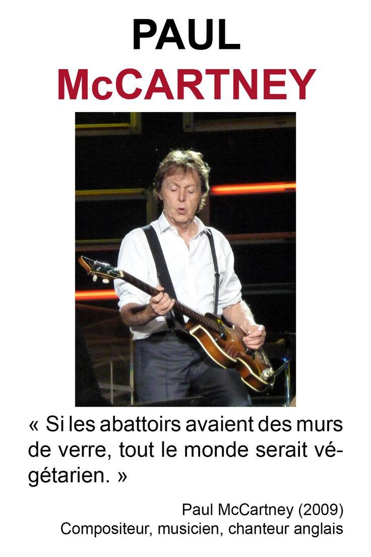 Citations des philosophes végétariens | Paul McCartney