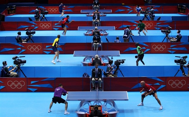 Women's Singles 2nd Round - Table Tennis Slideshows (Photo: Feng Li / Getty Images) #NBCOlympics