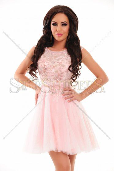 Sherri Hill 9811 Pink Dress
