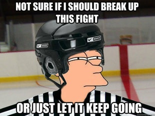 "When I first heard a referee give Arron Asham a ""good fight"" accolade, I realized I was watching a sport like no other."