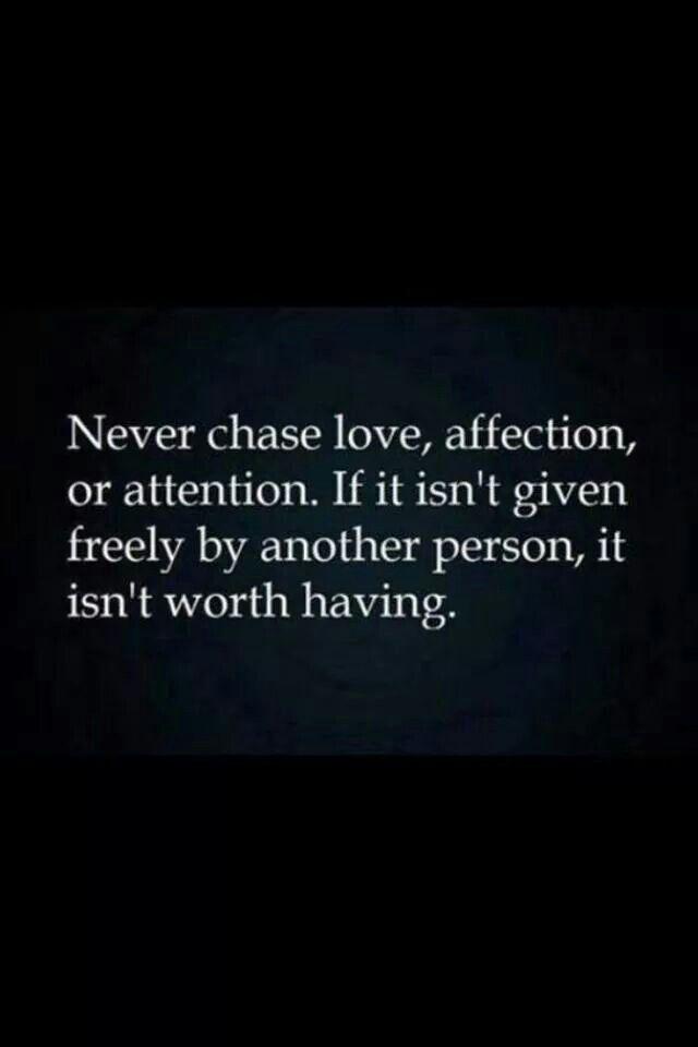 I never do