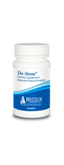 De-Stress - reduce stress, anxiety, insomnia, adrenal hyperfunction, and stress-related disorders such as panic attack and phobias