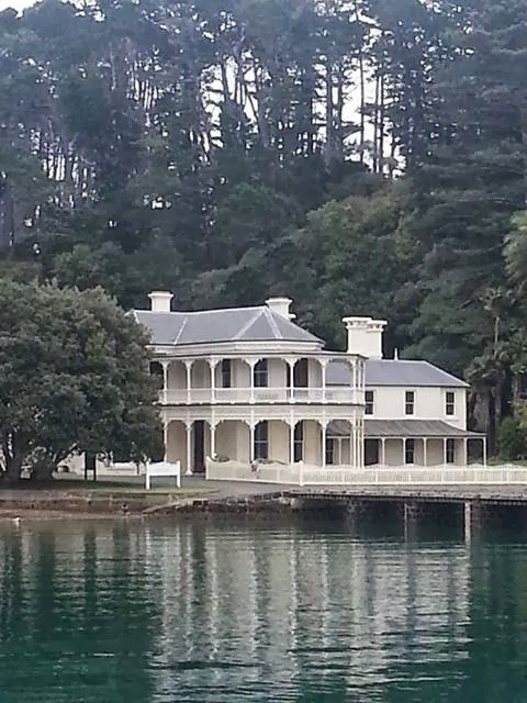 Mansion House Bay , Kawau Island New Zealand. This is my (4 or 5 x great grandfathers house!!)