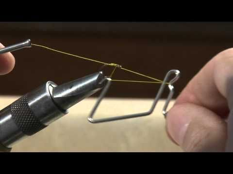Using a Whip Finish Tool - YouTube