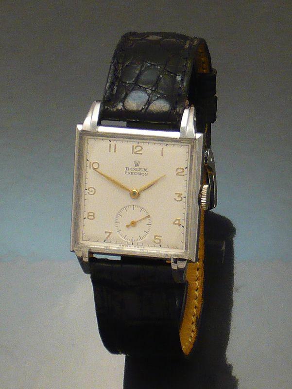 Rolex precision 1940s steel Watch